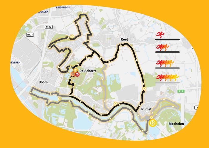 100km parcours 2019